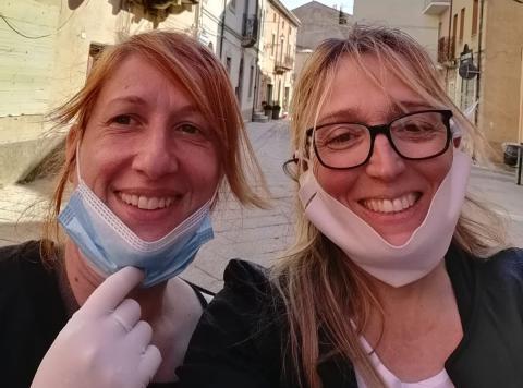 Rosina Niola e Loredana Deledda